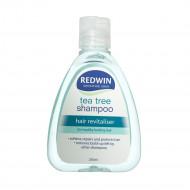 Redwin茶树油洗发水 零硅油 专为油性发质与敏感头皮设计 清洁毛孔清爽控油防止脱发 Tea Tree Shampoo 250ml