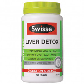 澳洲 Swisse护肝片200粒 保肝解毒应酬熬夜人士必备 Swisse Liver Detox 200s