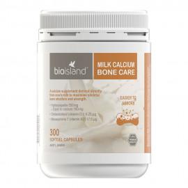 澳洲 Bioisland 成人牛乳钙/液体钙150粒 Milk Calcium Bone Care 150s