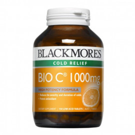 Blackmores 活性高含量维生素C 150粒 抗氧化提高免疫力 Blackmores Bio C 1000mg 150s
