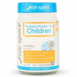 Life Space 儿童专用益生菌粉60克 适合3-12岁孩子  Probiotic Powder For Children 60g