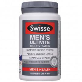 澳洲 Swisse男士复合维生素120粒 全面支持活力男性 Swisse Men's Ultivite Formula-1 120s