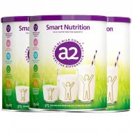 白金A2 儿童成长营养奶粉 三罐包邮 4-12岁适用 小安素 澳洲及新西兰奶源 A2 Smart Nutrition Milk for Growth 750g*3