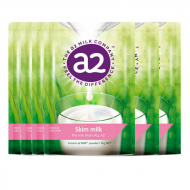 A2脱脂高钙奶粉 六袋包邮 3岁以上适用 感受不一样的香醇 A2 Instant Milk Skim Powder 1kg*6