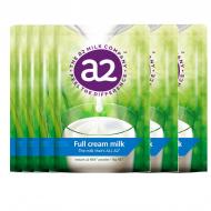 A2全脂高钙奶粉 六袋包邮 3岁以上全家适用 感受不一样的香醇 A2 Instant Milk Full Cream Powder 1kg*6