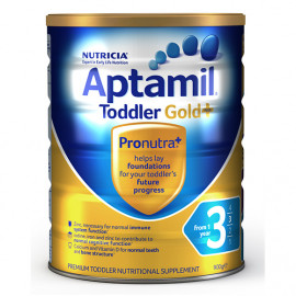 Aptamil爱他美金装3段婴儿配方牛奶粉 单罐包邮 新西兰可瑞康 Karicare Aptamil Gold+3