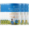 Bellamy's 贝拉米 有机婴儿牛奶粉4段 澳洲第一有机品牌 整箱六罐包邮税 三至四周到货 Bellamy's Organic 4