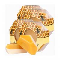Parrs蜂蜜蜂胶双面皂 包邮四块装 杀菌消炎滋养护肤 推荐油性与痘痘肌肤使用 新西兰帕氏 Honey & Propolis Soap 140g*4