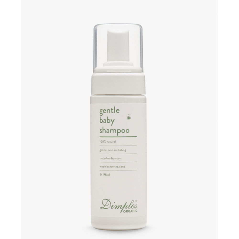 Dimples纯天然有机宝宝洗发露 婴儿护肤品中的贵族 新西兰荣誉出品 Organic Gentle Baby Shampoo 175ml
