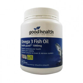 好健康 深海鱼油1000mg 400粒 营养大脑保护心脏 Good Health Omega3 Fish Oil 400s