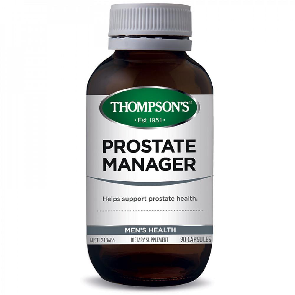 汤普森 前列腺管理配方90粒 守护男士泌尿系统健康 Thompson's Prostate Manager 90s