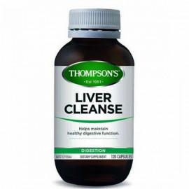 汤普森 清肝胶囊120粒 保肝排毒适合熬夜及饮酒人士 Thompson's Liver Cleanse 120s