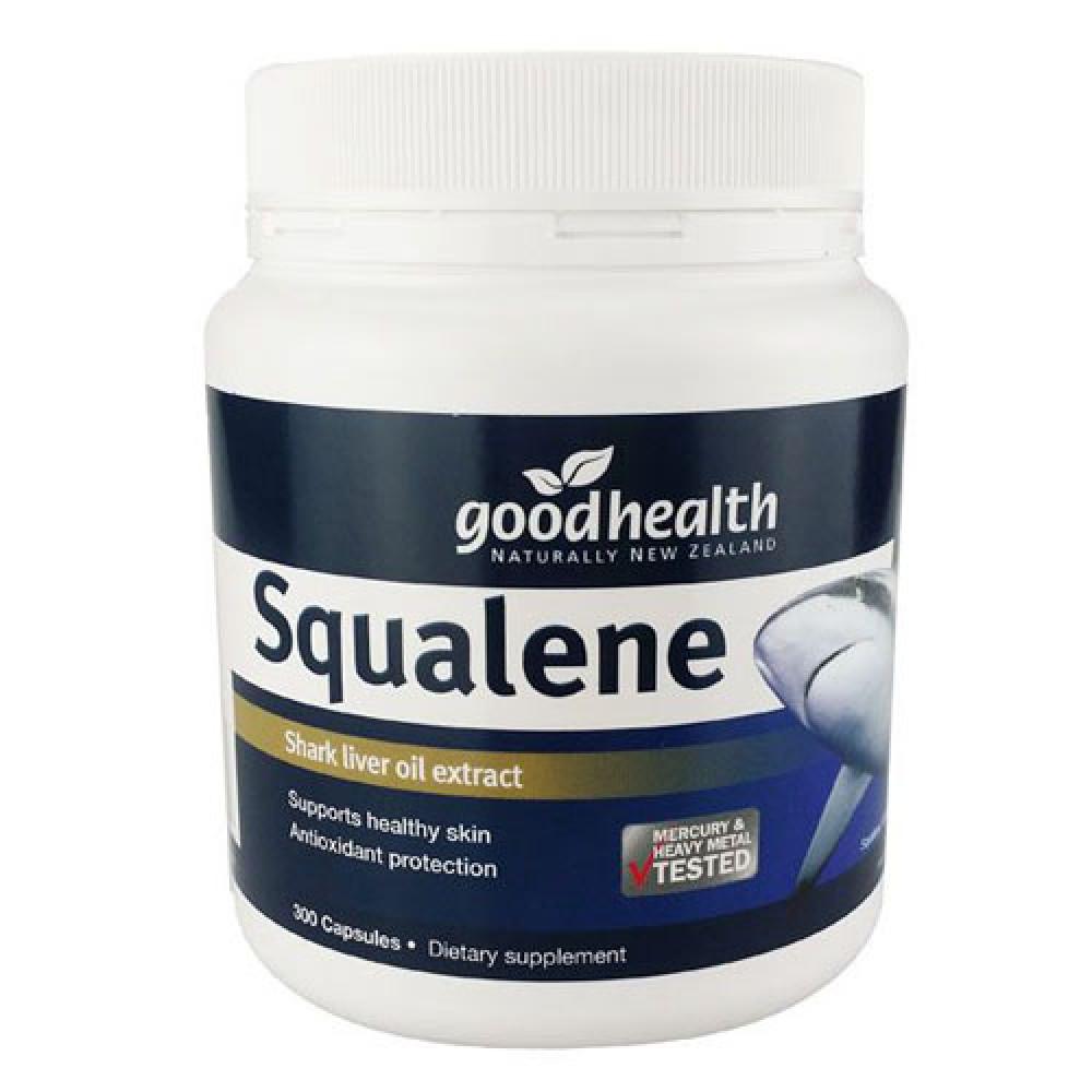 好健康 角鲨烯鱼肝油/鲨烯鱼油300粒 增强免疫系统 抗癌抗氧化抗三高 GoodHealth Squalene Shark Liver Oil 300s