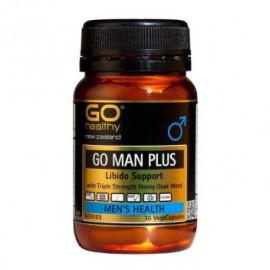 GO Healthy鳝鱼精华胶囊60粒 提升能力强健男人必备 GO Man Plus 60s