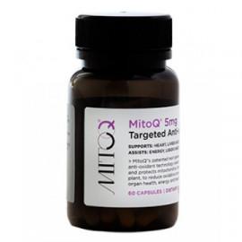MitoQ养颜健体抗氧化活力胶囊60粒 新西兰顶尖科技线粒体抗氧化技术 5mg Targeted Anti-oxidant 60s