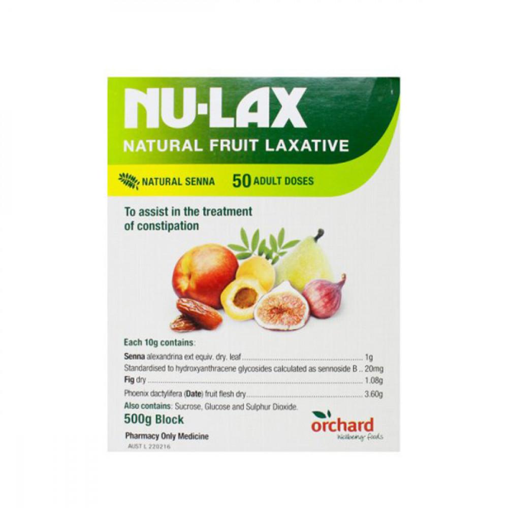Nu-Lax乐康膏/水果膏 纯天然方法解决便秘难题 润肠通便排毒养颜 Nu-Lax Laxative Paste 500g