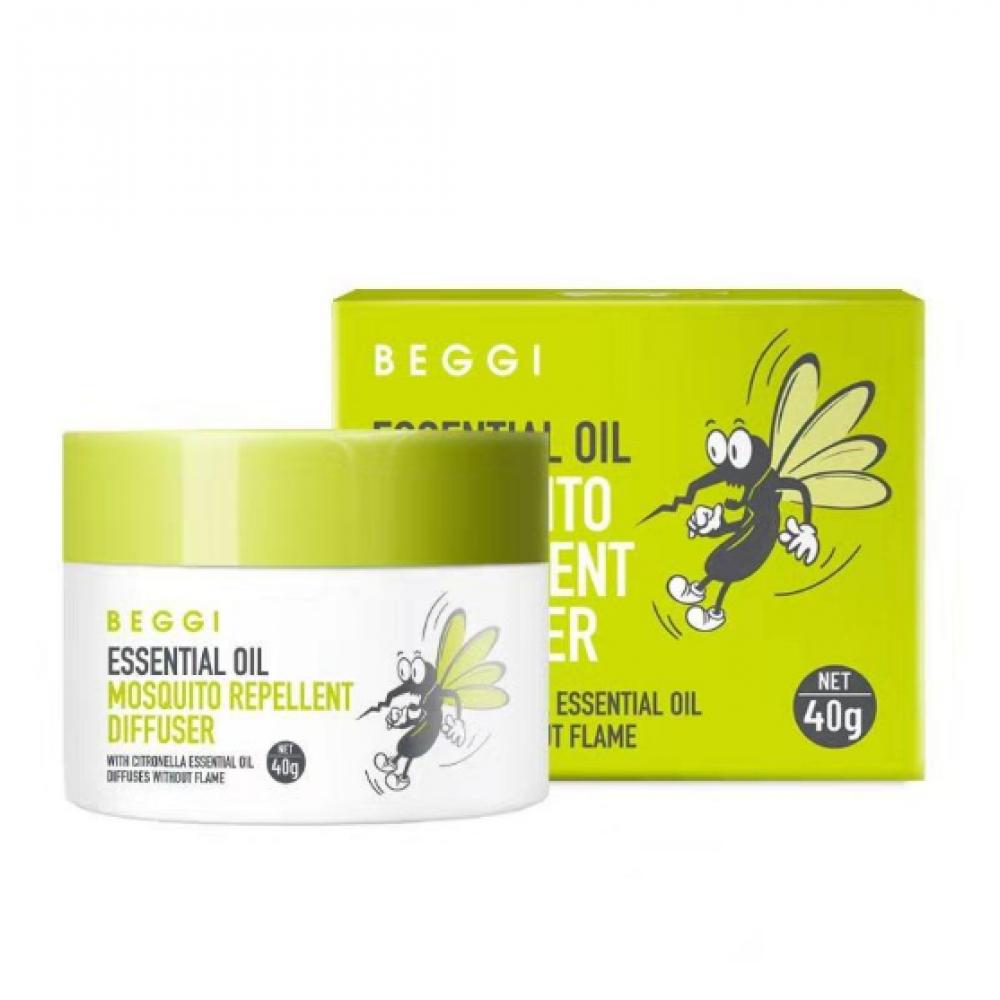 BEGGI 新西兰植物精油驱蚊香薰 40g 驱蚊抑菌净化空气 孕婴皆宜 每瓶能用100天有效覆盖15㎡