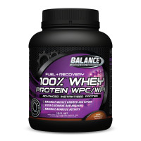 Balance百分百乳清蛋白粉巧克力味 减脂增肌补充能量 健身必备 100% Whey Protein WPC/WPI Chocolate 750g