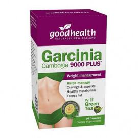 好健康 藤黄果绿茶瘦身胶囊60粒 有效燃脂重塑腰腹线条 Good Health Garcinia Cambogia 9000 Plus 60s