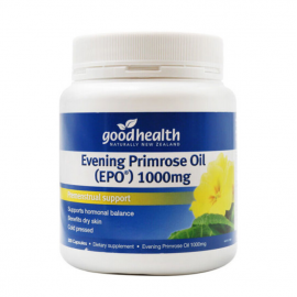好健康 月见草油胶囊300粒 平衡荷尔蒙调节内分泌 Good Health EPO Evening Primrose Oil Omega6 1000mg 300cap