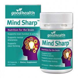 好健康 健脑胶囊30粒 增强记忆力 大脑灵活清晰思路 Good Health Mind Sharp 30s