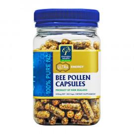 Manuka Health蜜纽康 天然蜂花粉胶囊200粒 全能营养库 补充能量与活力 Bee Pollen Capsules 200s