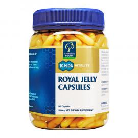 Manuka Health蜜纽康 蜂皇浆胶囊365粒 成就不老传说 推荐更年期后女士食用 Royal Jelly 365s