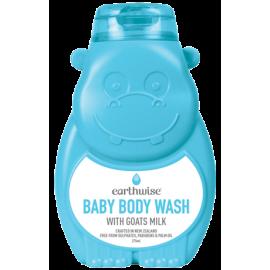 Earthwise小河马婴儿有机羊奶沐浴乳 纯天然配方 新西兰家喻户晓品牌 Hippo Baby Body Wash 275ml