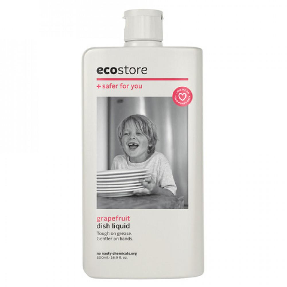 ecostore纯天然植物提取浓缩洗洁精 西柚香型 新西兰明星品牌 超大瓶 Ecostore Dishwash Liquid 1L