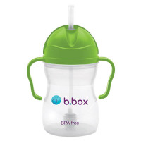 B.Box 双柄重力吸管杯/学饮杯 安全无毒不含BPA 颜色随机 6个月以上适用 B.BoxSippy Cup 240ml