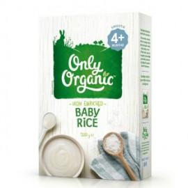 Only Organic有机婴儿加铁米粉/米糊 4个月以上适用 Only Organic Baby Rice 4+ 200g