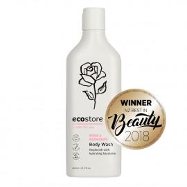 ecostore 沐浴露玫瑰豆蔻香型 纯天然植物配方 安全环保孕妇适用 新西兰明星产品 Body Wash 400ml