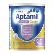 Aptamil爱他美De-lact无乳糖防腹泻配方奶粉 0-12个月适用 六罐包邮税约三周到 Aptamil De-lact Gold+