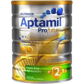 Aptamil爱他美铂金版2段婴儿配方奶粉 单罐包邮 可瑞康公司出品 Karicare Aptamil Profutura 2
