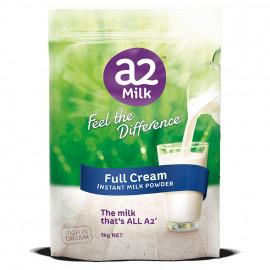 A2全脂高钙奶粉 两袋包邮 3岁以上适用 感受不一样的香醇 A2 Instant Milk Full Cream Powder 1kg*2