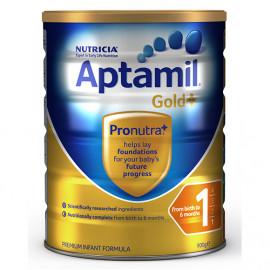 Aptamil爱他美金装1段婴儿配方奶粉 新西兰可瑞康 六罐包邮税约三周到 Karicare Aptamil Gold+1