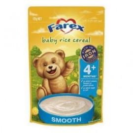 Farex婴儿营养米粉4个月以上 高铁无糖低敏配方 密封拉链 Baby Rice Cereal 4 months+ 125g
