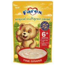 Farex婴儿营养米粉6个月以上 高铁无糖低敏配方 密封拉链 Organic Multigrain Cereal 6 months+ 125g