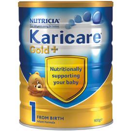 Karicare可瑞康金装1段婴儿配方奶粉 加强免疫系列 新西兰销量第一 六罐包邮税约三周到 Karicare GOLD+ 1