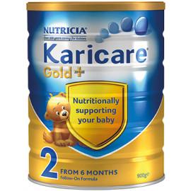 Karicare可瑞康金装2段婴儿配方奶粉 加强免疫系列 新西兰销量第一 六罐包邮税约三周到 Karicare GOLD+ 2