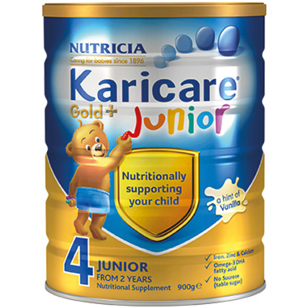 Karicare可瑞康金装4段婴儿配方奶粉 加强免疫系列 新西兰销量第一 六罐包邮税约三周到 Karicare GOLD+ 4