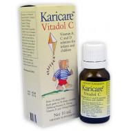 Karicare婴幼儿童维生素滴剂 含维生素A、C、D增强免疫力 内附吸管精确用量 可瑞康公司出品 Karicare Vitadol C 10ml
